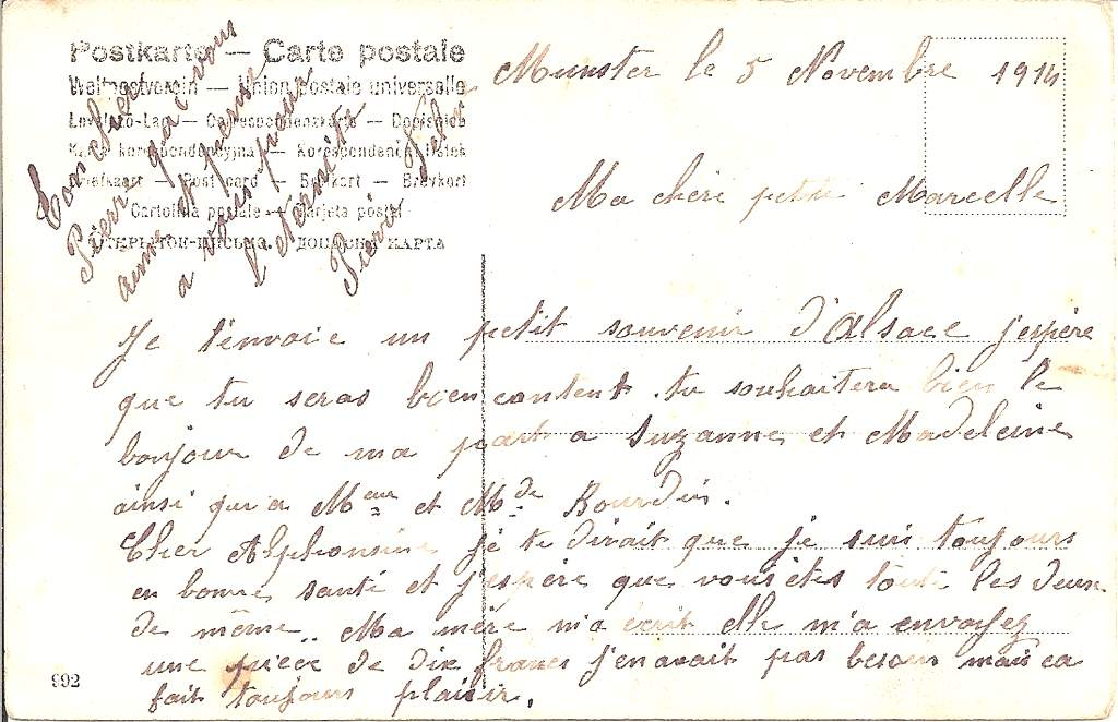 carte munster texte