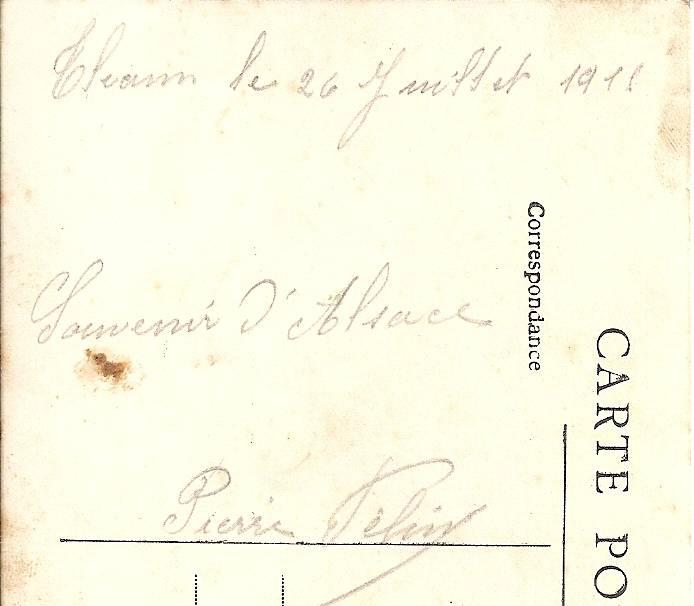 texte carte postale les poilus