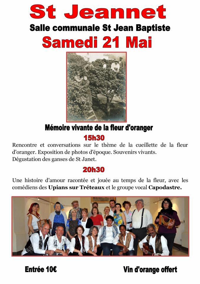 21 mai, Mémoire d...